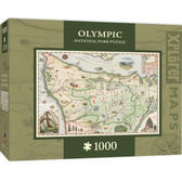 Xplorer Maps - Olympic 1000pc Puzzle