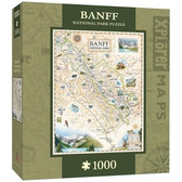 Xplorer Maps - Banff Canada 1000pc Puzzle
