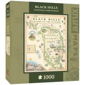 Xplorer Maps - Black Hills Map 1000pc Puzzle