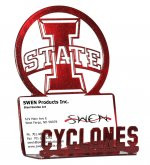 "IOWA STATE ""I STATE"" Business Card Holder"