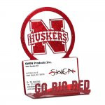 NEBRASKA HUSKERS Business Card Holder