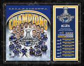 St. Louis Blues 2019 NHL Stanley Cup Champions Composite Plaque