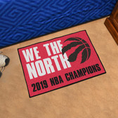 Toronto Raptors 2019 NBA Finals Champions Starter Mat