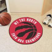 Toronto Raptors 2019 NBA Finals Champions Basketball Mat