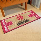 Toronto Raptors 2019 NBA Finals Champions NBA Court Large Runner