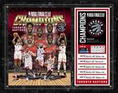 Toronto Raptors 2019 NBA Champions Composite Plaque 12x15