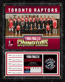 Toronto Raptors 2019 NBA Finals Champions Plaque 12x15