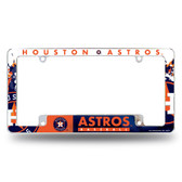 Houston Astros All Over Chrome Frame
