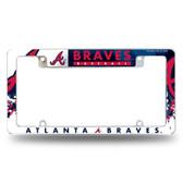 Atlanta Braves All Over Chrome Frame