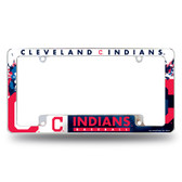 Cleveland Indians All Over Chrome Frame