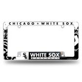 Chicago White Sox All Over Chrome Frame