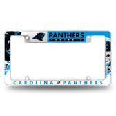 Carolina Panthers - CR All Over Chrome Frame