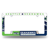 Seattle Seahawks All Over Chrome Frame