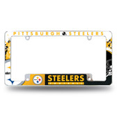 Pittsburgh Steelers All Over Chrome Frame