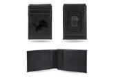 Detroit Lions Laser Engraved Black Front Pocket Wallet