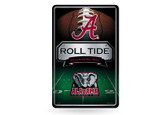 Alabama Crimson Tide 11X17 Large Embossed Metal Wall Sign