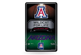 Arizona Wildcats 11X17 Large Embossed Metal Wall Sign