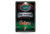 Florida Gators 11X17 Large Embossed Metal Wall Sign