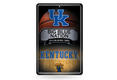 Kentucky Wildcats 11X17 Large Embossed Metal Wall Sign