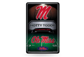 Ole Miss Rebels 11X17 Large Embossed Metal Wall Sign