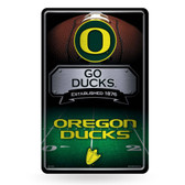 Oregon Ducks 11X17 Large Embossed Metal Wall Sign