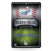 Los Angeles Dodgers 11X17 Large Embossed Metal Wall Sign