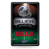 Buffalo Bills 11X17 Large Embossed Metal Wall Sign