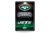 New York Jets 11X17 Large Embossed Metal Wall Sign