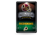 Washington Redskins 11X17 Large Embossed Metal Wall Sign