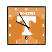 Tennessee Volunteers 3D Black Square Clock
