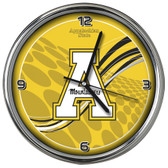 Appalachian State Mountaineers 12 Dynamic  Chrome Clock