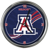 Arizona Wildcats 12 Dynamic  Chrome Clock
