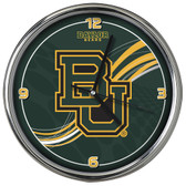 Baylor Bears 12 Dynamic  Chrome Clock