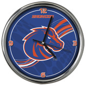 Boise State Broncos 12 Dynamic  Chrome Clock