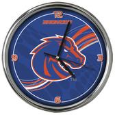 Boise State Broncos 12 Dynamic  Chrome Clock