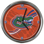 Florida Gators 12 Dynamic  Chrome Clock