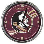 Florida State Seminoles 12 Dynamic  Chrome Clock