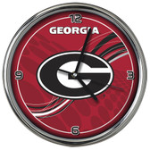 Georgia Bulldogs 12 Dynamic  Chrome Clock