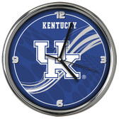 Kentucky Wildcats 12 Dynamic  Chrome Clock