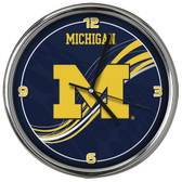 Michigan Wolverines 12 Dynamic Clock