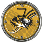 Missouri Tigers 12 Dynamic  Chrome Clock