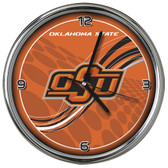 Oklahoma State Cowboys 12 Dynamic  Chrome Clock