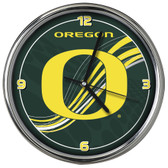 Oregon Ducks 12 Dynamic  Chrome Clock