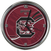 South Carolina Gamecocks 12 Dynamic  Chrome Clock