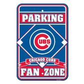 Chicago Cubs Plastic Parking Sign