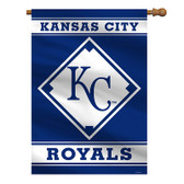 "Kansas City Royals House Banner 28"" x 40"" 1- Sided"