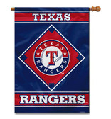 "Texas Rangers House Banner 28"" x 40"" 1- Sided"