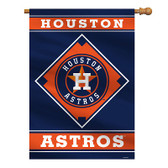 "Houston Astros House Banner 28"" x 40"" 1- Sided"