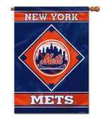 "New York Mets House Banner 28"" x 40"" 1- Sided"