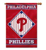 """Philadelphia Phillies House Banner 28"""" x 40"""" 1- Sided"""